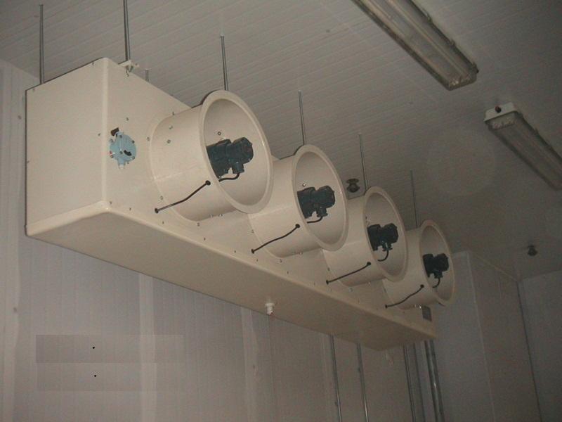 冷库电控接线实物图